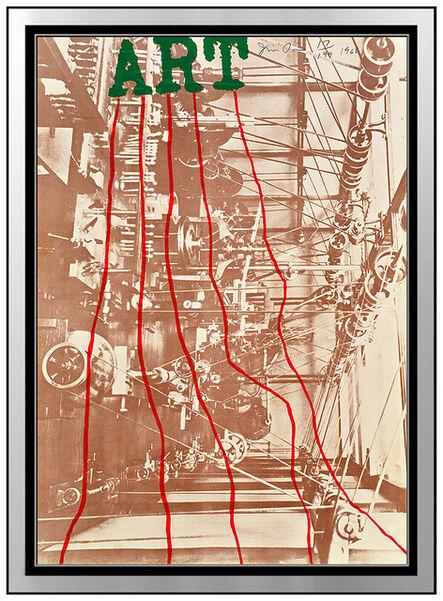 Jim Dine, 'Art', 1968