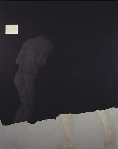 Carlo Alfano, 'Senza titolo (figura nera)', 1985