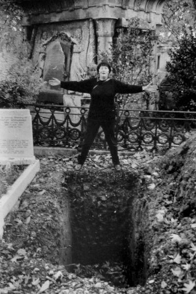 Jo Spence, 'The Final Project [Graveyard 2]', 1991-1992