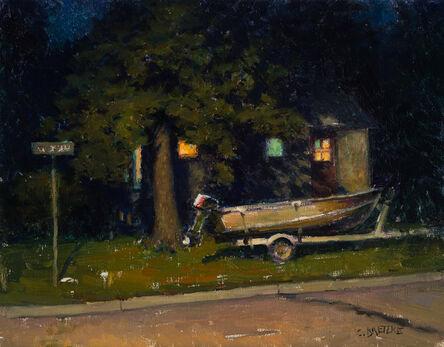 Carl Bretzke, 'Boat for Sale with Motor', 2017
