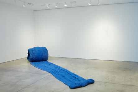 Cecilia Vicuña, 'Caracol Azul (Blue Snail)', 2017