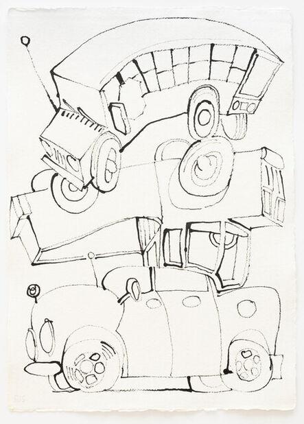 Frank J. Stockton, 'Bus Truck Car', 2021