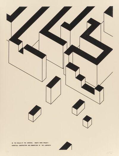 Robert Morris (b. 1931), 'Inmate Work Project, from In The Realm', 1979