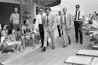 Terry O'Neill, 'Frank Sinatra On The Boardwalk, Miami', 1968