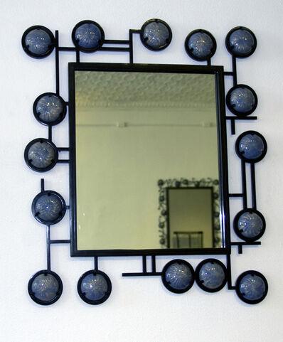 Christophe Côme, 'Blue Enamel Mirror', 2009