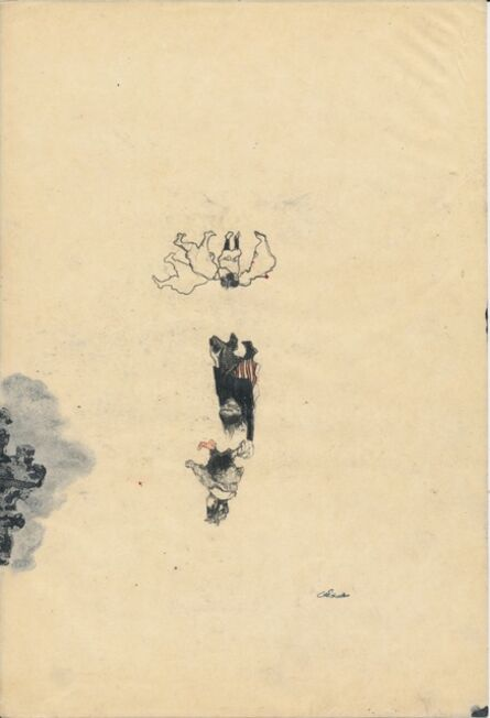 Cat Roissetter, 'Circular Levitation Compostion', 2008