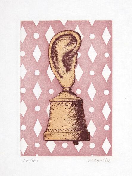 René Magritte, 'La Leçon de Musique, from Signe de Survie au Temps d'Amour', 1968