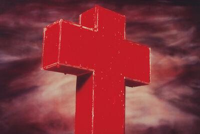 Andres Serrano, 'Blood Cross', 1985