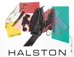 Andy Warhol, 'Halston Avertising Campaign: MEN'S WEAR', 1982