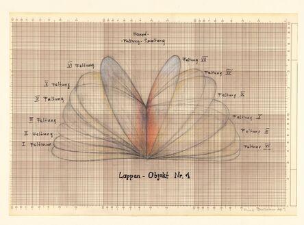Renate Bertlmann, 'Lappen-Objekt (Lobe object I)', 1976