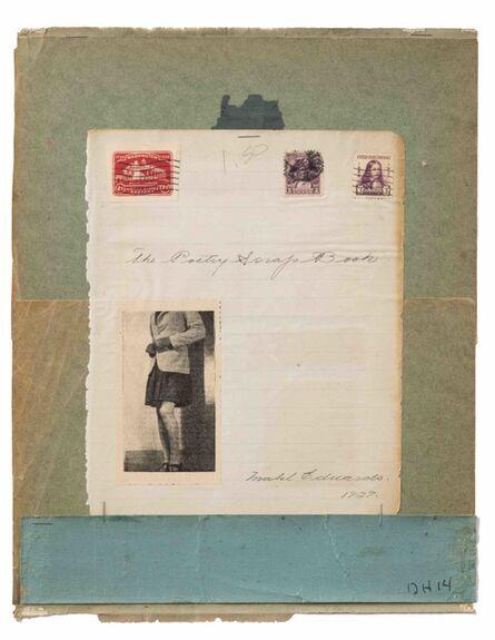 Duncan Hannah, 'Collage', 2014