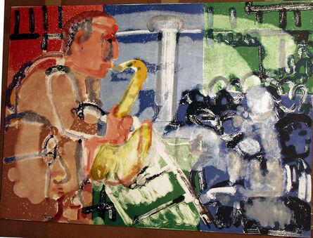 Romare Bearden, 'Bopping at Birdland ', 1979