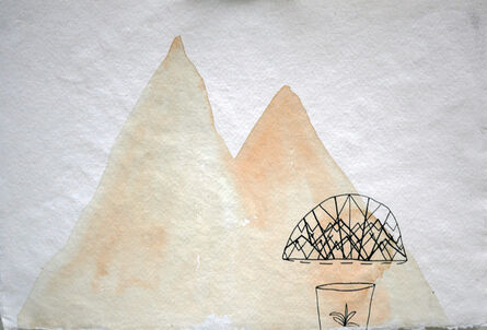 JELENA BANDO, 'The Two Peaks', 2016