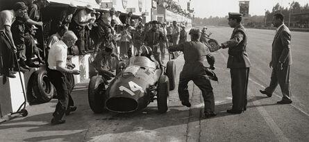 Jesse Alexander, 'Ferrari Pit Stop, Monza, Italy', 1958