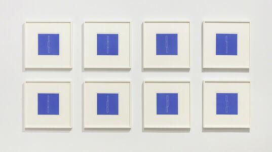 Fred Sandback, 'Portfolio of 8 Linocuts', 1979