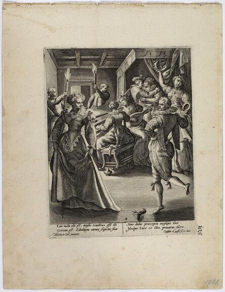 Crispijn van de Passe, 'The Wise and the Foolish Virgins'
