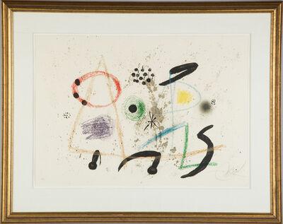 Joan Miró, 'Maravillas con Variaciones Acrosticas en el Jardin de Miro (M. 1055)', 1975