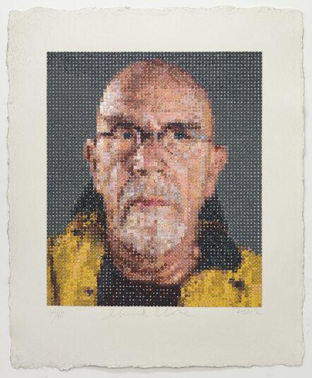 Chuck Close, 'Self Portrait', ca. 2011
