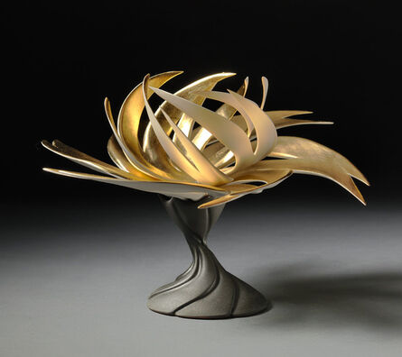 Jennifer McCurdy, 'Gilded Water Lily', 2018