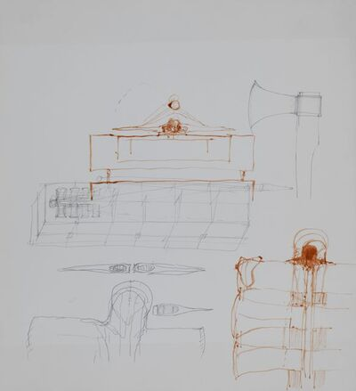 Walter Pichler, 'Ohne Titel (Frau aus Metall)', ca. 1970