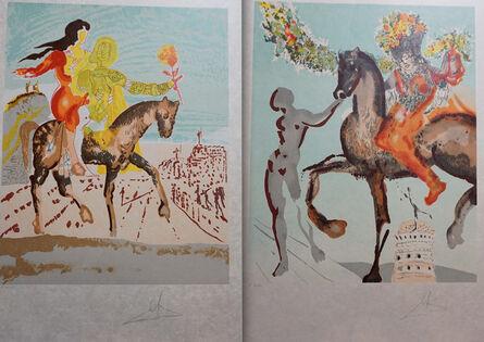 Salvador Dalí, 'New Jerusalem 2 Piece Suite', 1980