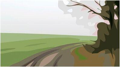 Julian Opie, 'SErie Winter Landscape', 2012