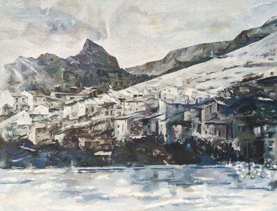 Balcomb Greene, 'Cliffs at Cannes, France', ca. 1963