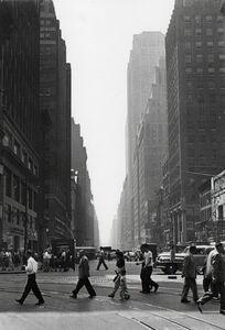 Rudy Burckhardt, 'Crossing', ca. 1948