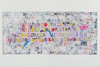 Mark Bradford, 'Rebuild South Central', 2015