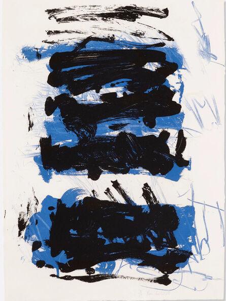 Joan Mitchell, 'Fields II - Blue', 1992