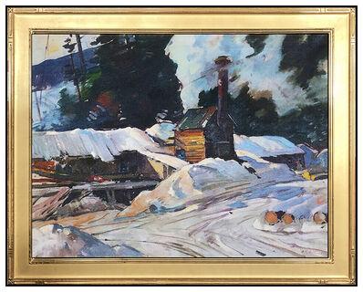 Aldro Thompson Hibbard, 'Sawmill At Winter', 20th Century