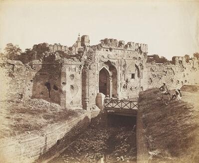 Felice Beato, 'Cashmere Gate, Delhi', 1858
