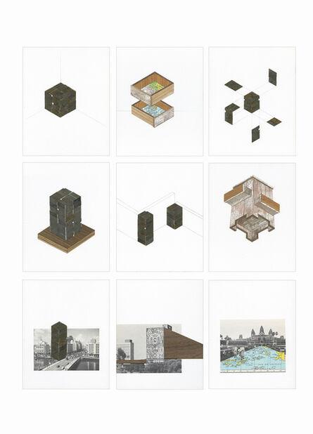 Norman Morales, 'Materia y espacio', 2017