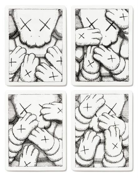 KAWS, 'KAWS URGE (ceramic plates) ', 2021