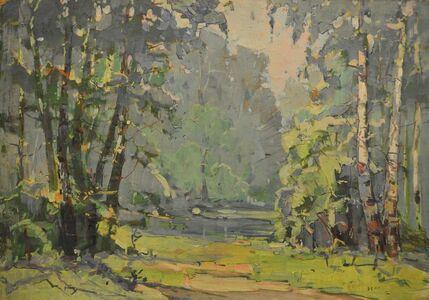 Aleksandr Nikiforovich Chervonenko, 'A blue day', 1960