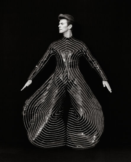 Herb Ritts, 'David Bowie, Hollywood', 1989