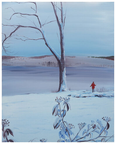 Sebastian Blanck, 'Frozen Mountain Laurel', 2019