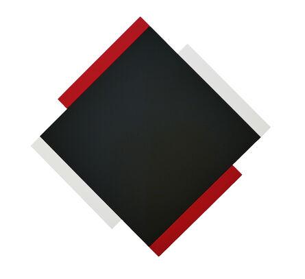 Scot Heywood, 'Centric – Black, Red, White'