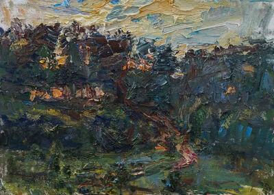 Ulrich Gleiter, 'Orange Sunset', 2014