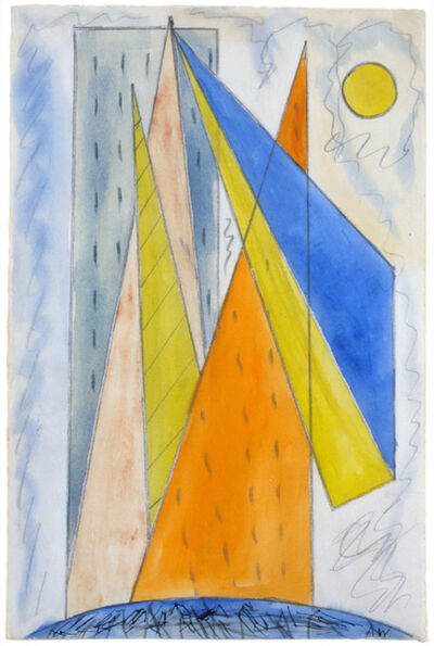 Abraham Walkowitz, 'Untitled (New York Abstraction)', 1910