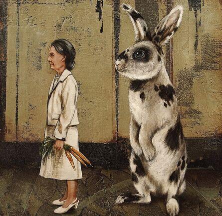 Tyson Grumm, 'The Hare Behind the Heir', 2014