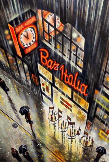 John Duffin, 'Bar Italia, Soho', 2020