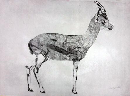 Manal Mahamid, 'Palestinian Gazelle 3', 2016