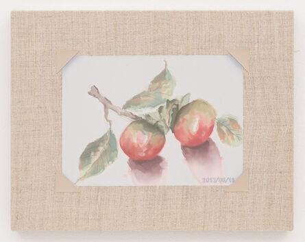 Mika Horibuchi, 'Watercolor of Persimmons', 2017