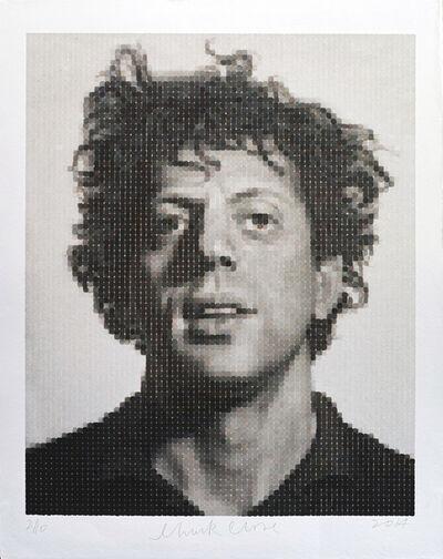 Chuck Close, 'Phil (WC print on Japanese HMP)', 2014