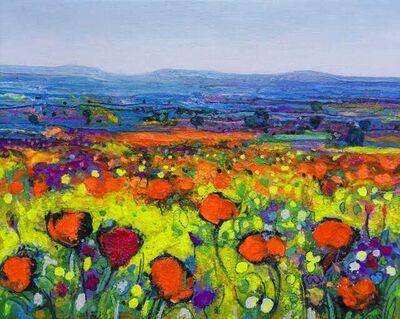 Ulpiano Carrasco, 'Morning Poppies', 2021