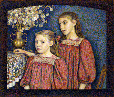 Georges Lemmen, 'The Two Sisters or The Serruys Sisters', 1894
