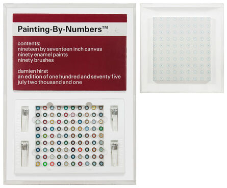 Damien Hirst, 'Painting by Numbers 2', 2001