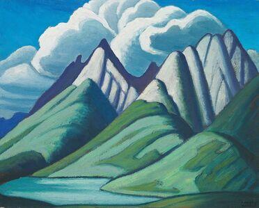 Lawren Stewart Harris, 'Mountain Sketch VII', 1928