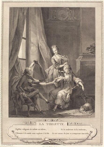 Nicolas Joseph Voyez after Sigmund Freudenberger, 'La toilette', 1774